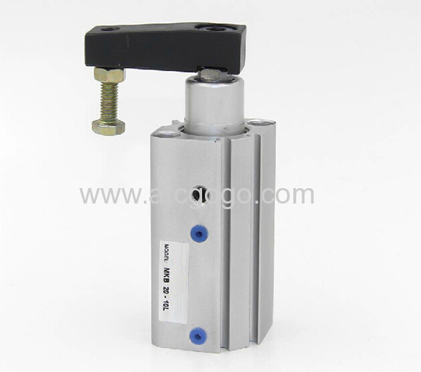 Smc type pneumatic cylinder rotary clamp air cylinders