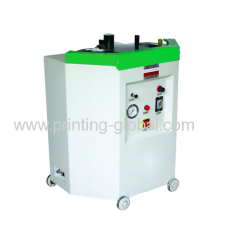 Double-tank type pneumatic attaching machine