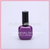 15ml purple oblate nail polish bottle empty glass uv gel nail polish bottle hotsale