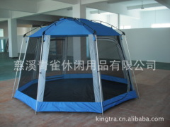 Outdoor hexagonal big tent