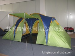 Camping tent three-bedroom waterproof
