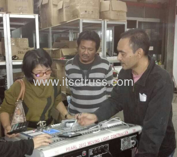 Let's visit our brother stage lighting company