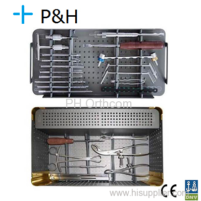 Upper Limbs Instrument Kit Trauma Orthopaedic Medical Implant Stainless Steel Instrument Box