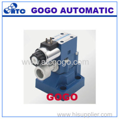 The relied valve is a pressure control valve