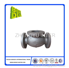 High quality cast iron valve body casting parts manufacturer price