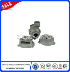Resin sand cast pump body casting parts price