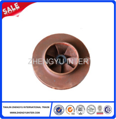 Lost foam impeller of pump casting parts