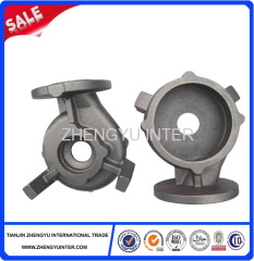 Resin sand cast pump shell casting parts price