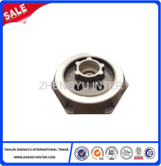 Grey iron oil pump cover casting parts