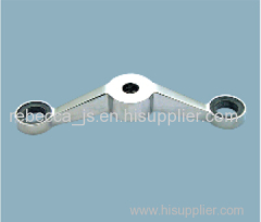 Stainless steel spider fitting (2-legs) for point-fixed glass curtain wall