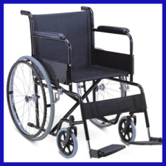 Maual foldable medical wheelchair