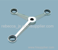 Stainless steel spider fitting(3-legs) for point-fixed glass curtain wall