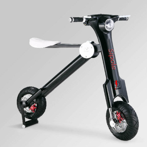 Two wheel Balancing Electric Scooter with 35KM Travel Distance rear damping dynamic display power