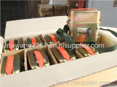 Isolated compressed oxygen self-rescuer/Chemical oxygen self rescuer for mine