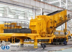 China Professional manufacture Mobile Crushing Plant Jaw Crusher