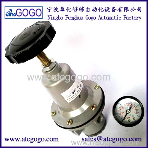 High quality flow pressure air regulator for air tank max flow-rate with pressure guage