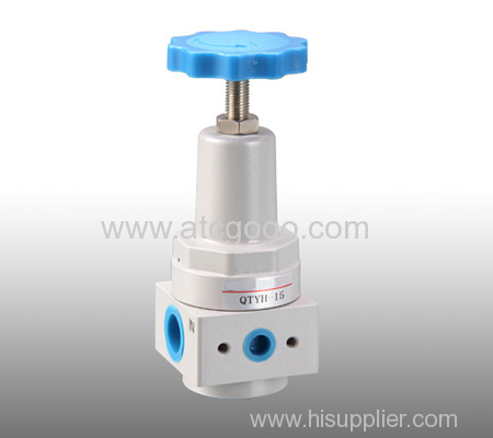 High pressure regulator valve with pressure guage 0-35bar precision regulator