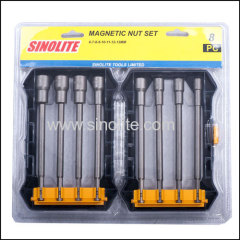 8-1pcs: Magnetic nut set