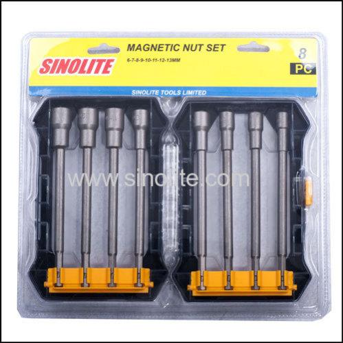 8-1pcs: Magnetic nut set