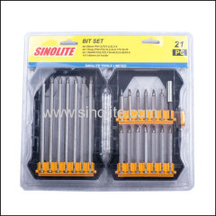 21pcs: Magnetic nut set
