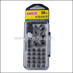 28pcs: Magnetic nut set