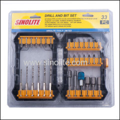 33pcs: Magnetic nut set
