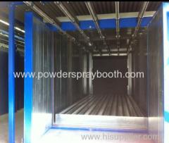 exporter of manual electrostatic powder coating line