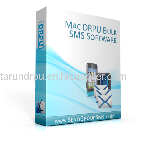 DRPU Bulk SMS Software for Mac