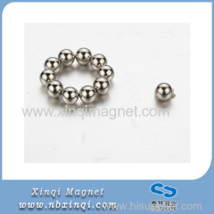 Permanent Neodymium industry magnet Nickle plated