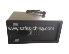 Credit card hotel Electronic guest room safes with outlet charger for laptop