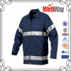 Navy safety reflective tape men work shirts