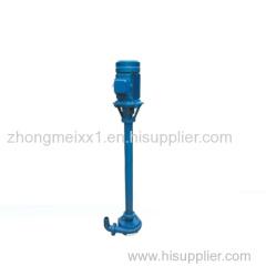 ZSL abrasion-resistant submerged slurry pump