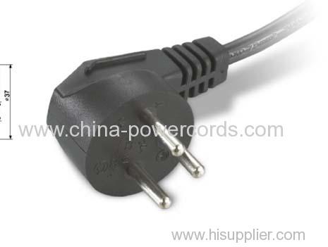 Israeli type moulded plugs