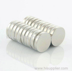 N50 disc neodymium magnet 3*1.5mm with Nickel coating