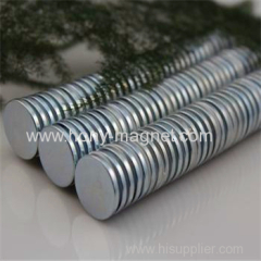 nickel coating disc n52 neodymium magnet