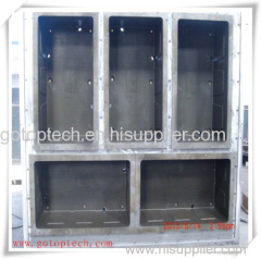 EPS box mold for packing fish and seafood on EPS machine