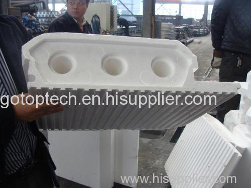 eps roof shape machine eps roof panel mould eps floor panel insulation mould
