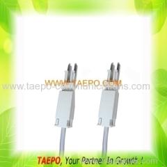 4-pole test plug to test plug