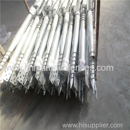Auger Spiral Screw Anchor Bolt Pile Made In China