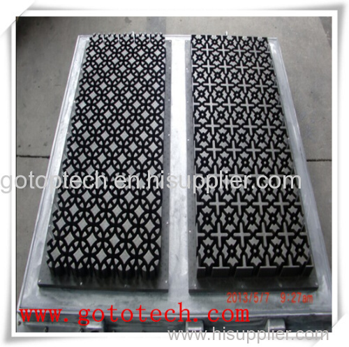 eps block board mould for buiding insulation on eps machine