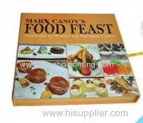cooking book, hardcover, inside 4 color printing.