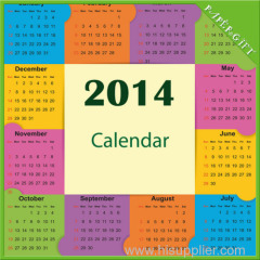 desktop calander full color printing
