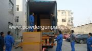 loading -powder coating machine