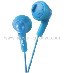 JVC HA-F160 Peppermint Blue Gumy Bass Boost Powerful Best Earbud Earphones Headphones