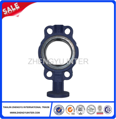 HT350 Grey cast iron butterfly valve body Casting Parts