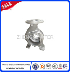 Resin sand stainless iron pump casting parts