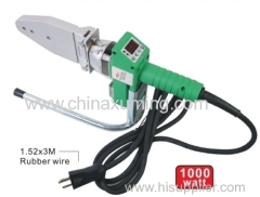 plastic pipe welding machine with digital dispaly from dn20 to dn63