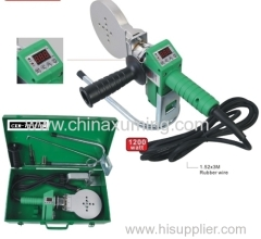 plastic pipe welding machine with digital dispaly from dn75 to dn110