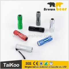 9 led cheap mini flashlight