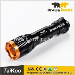 t6 led most powerful aluminum zoom flashlight